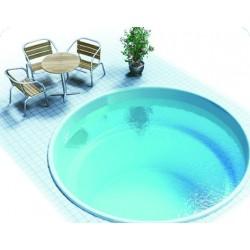 Круглый полипропиленовый бассейн Модена 2.5