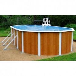 Овальный бассейн Atlantic Pools Esprit - Wood (3.66x7.32x1.32м.)
