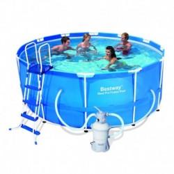 Каркасный бассейн Bestway 56414/56259 с песочным фильтром (366x122)