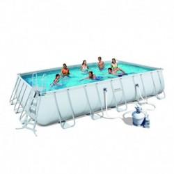 Каркасный бассейн Bestway 56278 с песочным фильтром (671х366х132)