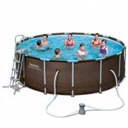 Каркасный бассейн Bestway Ротанг 56483 (427x122)