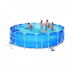Каркасный бассейн Bestway 56113 (549х122) с уборочным комплектом
