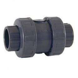 Клапан обратный Coraplax под вклейку (разборный) д. 25