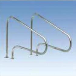 Поручни  для выхода из бассейна с анкерами AISI-304