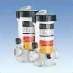 Хлоратор полуавтомат IN LINE для хлора, брома или кислорода