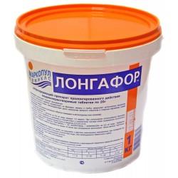 Лонгафор органический хлор - 90% табл. 20 гр, ведро 1 кг