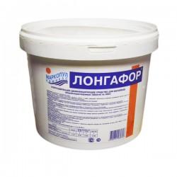 Лонгафор органический хлор - 90% табл. 200 гр, ведро 2,6 кг