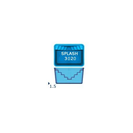 Композитный бассейн San Juan SPLASH 3х2х1,5 м