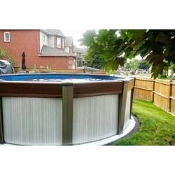 Каркасный бассейн Contempra - Atlantic Pool  (5.5х1.35) (Канада)