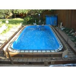Полипропиленовый бассейн под ключ норма