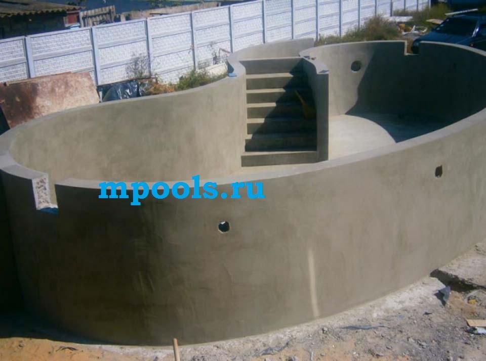 Опалубка для бассейна фото
